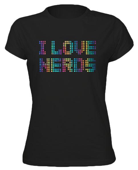 I-Love-Nerds-Diamante-Style-Hen-Do-Funky-Cool-Tshirt