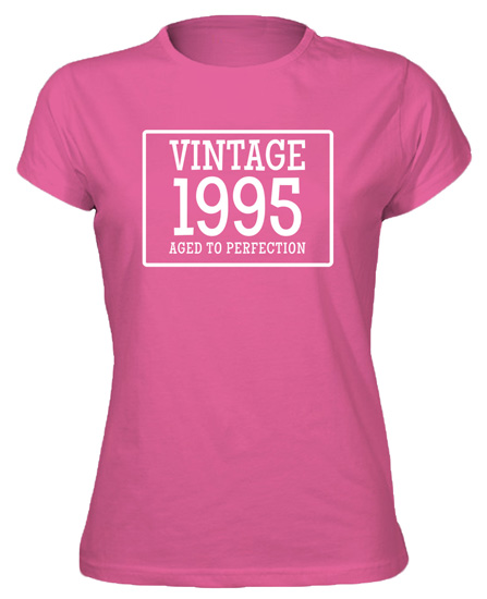 21st-Birthday-Gift-Vintage-Aged-Perfection-New-Tshirt