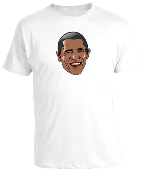 Barack-Obama-USA-President-Cartoon-Face-Funny-Cool-T-Shirt-Tee-New